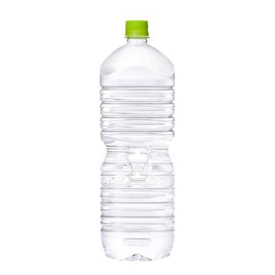 コカ・コーラ い・ろ・は・す天然水 PET ラベルレス 2L 6本入×1ケース