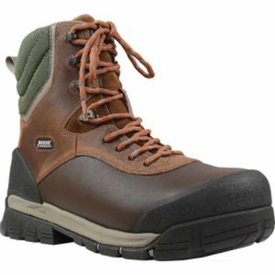 ボグス Bogs メンズ ブーツ ワークブーツ シューズ・靴 Bedrock 8 Composite Toe Work Boot Brown Multi Leather/Textile