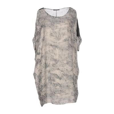 REBEL QUEEN by LIU •JO ミニワンピース&ドレス ベージュ 42 レーヨン 100% ミニワンピース&ドレス