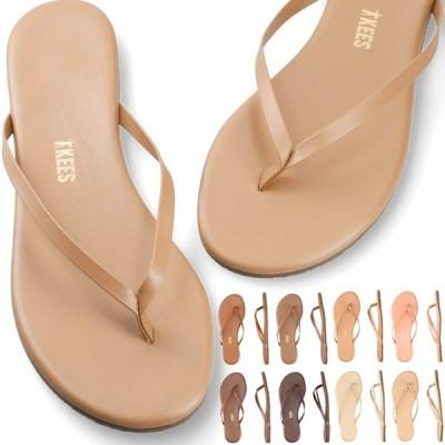 ティキーズ ビーチサンダル サンダル TKEES SHIMMER SANDAL トングサンダル 靴 ビーチサンダル 歩きやすい 疲れにくい フラットシューズ ビーチ リゾート