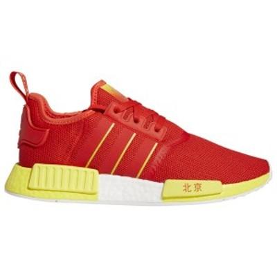 アディダス メンズ スニーカー シューズ adidas Originals NMD R1 Active Red/Bright Yellow/White | Beijing