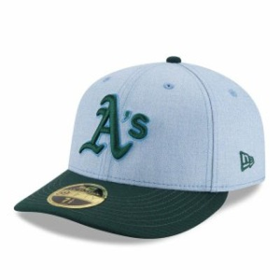New Era ニュー エラ スポーツ用品  New Era Oakland Athletics Light Blue 2018 Fathers Day On Field Low Profile 59FIFTY Fitted Hat