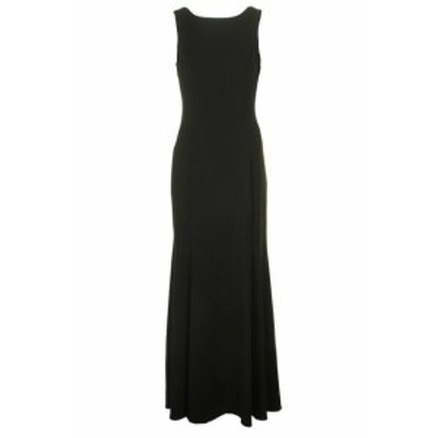 Vince ヴィンス ファッション ドレス Vince Cauto Black Exposed Ruffled Back Gown 6