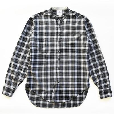 OSVALDO TRUCCHI(オスバルド トルッキ) スタンドカラー チェックシャツ