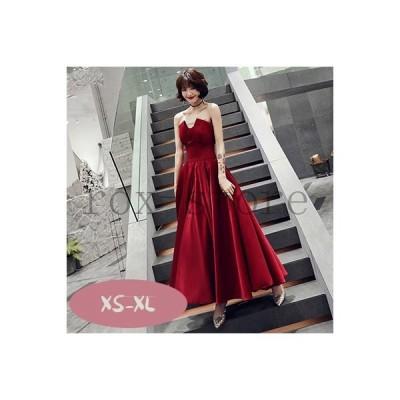 レディースパーティードレス/ワンピース結婚式ウエディングweddingdressロングドレス20代30代40代