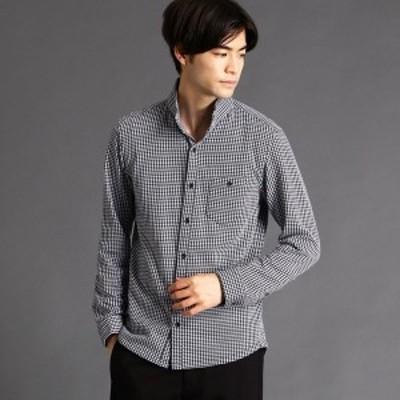 ニコルクラブフォーメン(NICOLE CLUB FOR MEN)/鹿の子ストライプカットシャツ