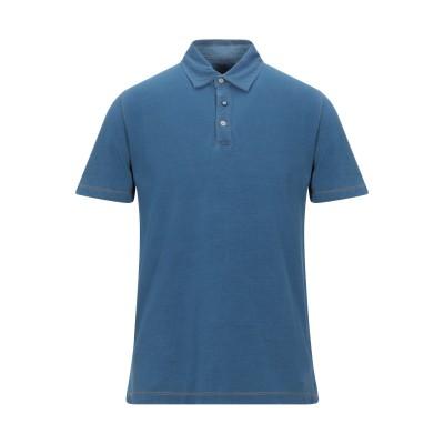 ヘリテージ HERITAGE ポロシャツ ブルーグレー 50 コットン 100% ポロシャツ