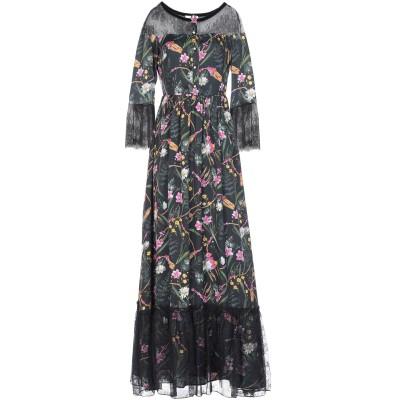ブルーガール ブルマリン BLUGIRL BLUMARINE ロングワンピース&ドレス ブラック 40 ポリエステル 100% / ナイロン ロング