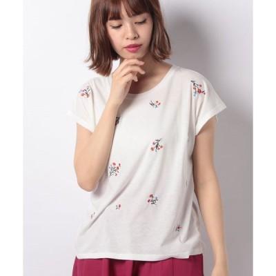 【グリーンパークス】刺繍Tシャツ