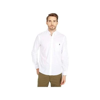 ポロ・ラルフローレン Garment Dyed Chino Shirt メンズ シャツ トップス White
