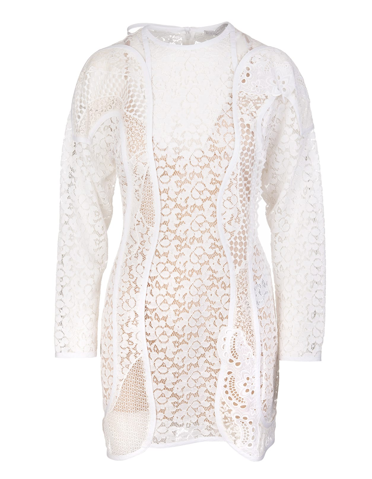Stella McCartney Cream Daphne Minidress
