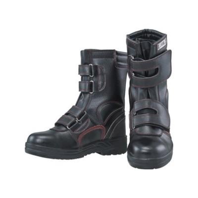 安全シューズ半長靴マジックタイプ 30.0 おたふく JW775300-1087
