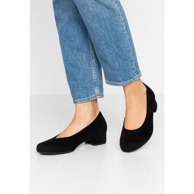 ガボール コンフォート ヒール レディース シューズ Classic heels - schwarz