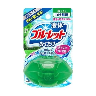 液体ブルーレットおくだけ トイレタンク芳香洗浄剤 詰め替え 森の香り 70ml