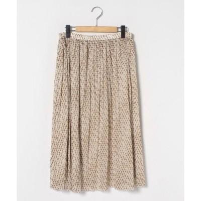 LAPINE ROUGE / ラピーヌ ルージュ ドットチュール プリーツスカート