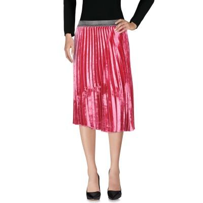 ピンコ PINKO 7分丈スカート パープル 44 100% ポリエステル 7分丈スカート