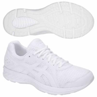 アシックス ジョギングシューズ  メンズ ジョルト 2 EW ホワイト×ホワイト  asics 1011A206-100