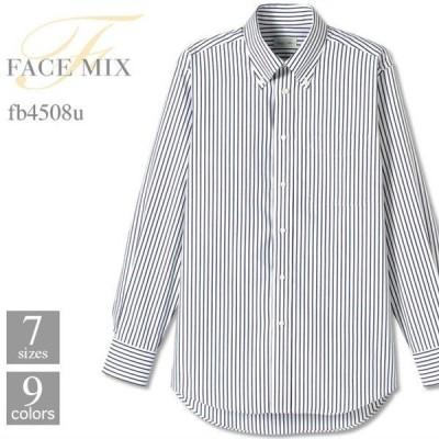FACE MIX(フェイスミックス)   ユニセックスシャツ(長袖) fb4508u