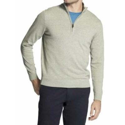 IZOD アイゾッド ファッション トップス Izod Mens Premium Essentials Quarter Zip Long Sleeve Cotton Sweater Shirt