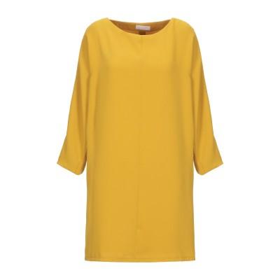 ANNIE P. ミニワンピース&ドレス オークル 44 ポリエステル 100% ミニワンピース&ドレス