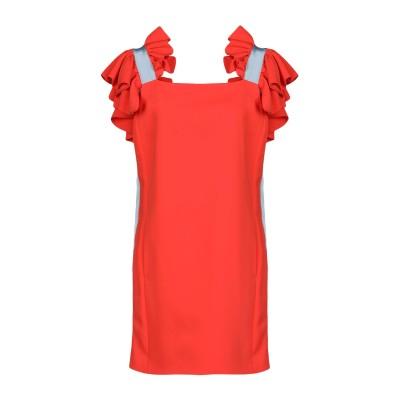 BROGNANO ミニワンピース&ドレス オレンジ 38 ポリエステル 100% / コットン / レーヨン ミニワンピース&ドレス