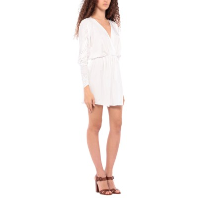 FISICO ビーチドレス ホワイト XS ナイロン 89% / ポリウレタン 11% ビーチドレス