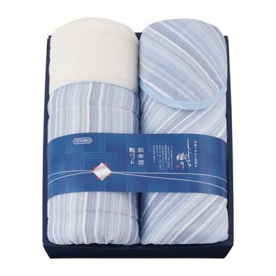 東洋紡 しじら織 国産敷パット&肌ふとん 6285 ベッドパッド・敷パッド