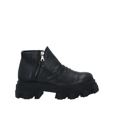 TSD12 ショートブーツ ブラック 36 革 ショートブーツ