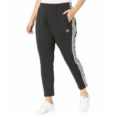 アディダスオリジナルス カジュアルパンツ ボトムス レディース Plus Size SST Pants PB Black/White