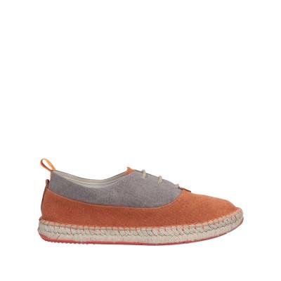 トニーポンズ TONI PONS スニーカー&テニスシューズ(ローカット) オレンジ 39 紡績繊維 / 革 スニーカー&テニスシューズ(ローカット)