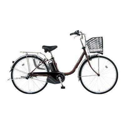 PANASONIC BE-ELSX632-T チョコブラウン ビビ・SX [電動アシスト自転車(26インチ・内装3段)] 電動自転車