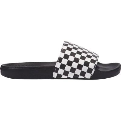 ヴァンズ Vans メンズ サンダル チェッカーフラッグ シューズ・靴 Slide On Checkerboard Slides Checkers Print