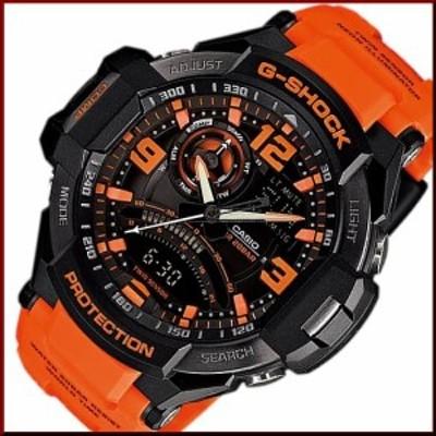 CASIO/カシオ【G-SHOCK/Gショック】SKY COCKPIT/スカイコックピット メンズ腕時計 ツインセンサー搭載【海外モデル】GA-1000-4A