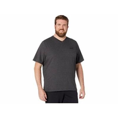 (取寄)プーマ メンズ ビッグ アンド トール エッセンシャル Vネック ティー PUMA Men's Big & Tall Essential V-Neck Tee Dark Gray Heat