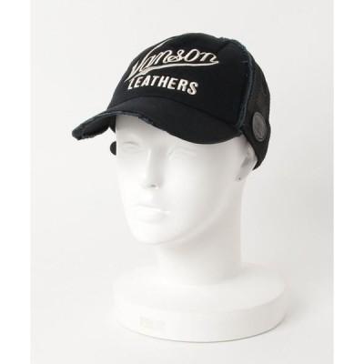帽子 キャップ VANSON DAMAGE MESH CAP-1