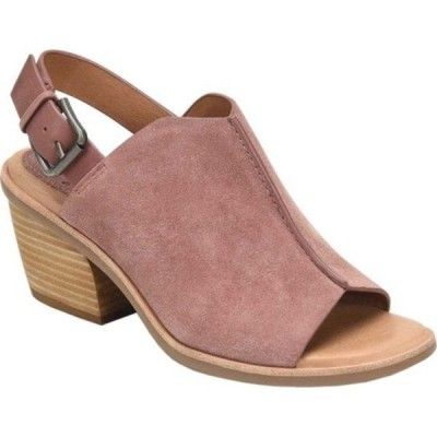 ソフト サンダル シューズ レディース Pelonia Heeled Slingback Sandal (Women's) Mulberry Cow Suede