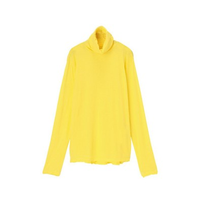 <ZUCCa(Women)/ズッカ> スーピマライトジャージー長袖Tシャツ yellow(06)【三越伊勢丹/公式】