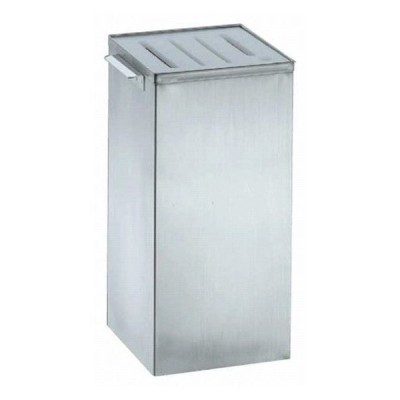 586-09 ENDO 18-8角型庖丁桶 108000520
