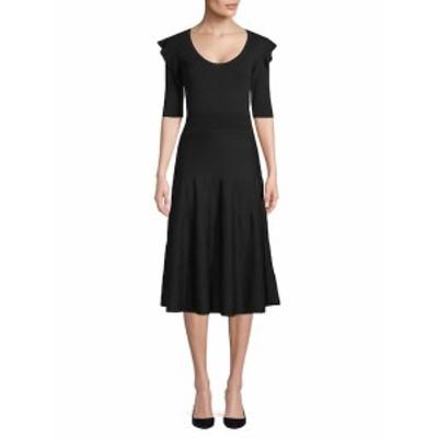 アグノーナ レディース ワンピース Elbow-Length Wool Dress