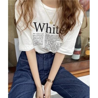 tシャツ Tシャツ カラープリントTシャツ