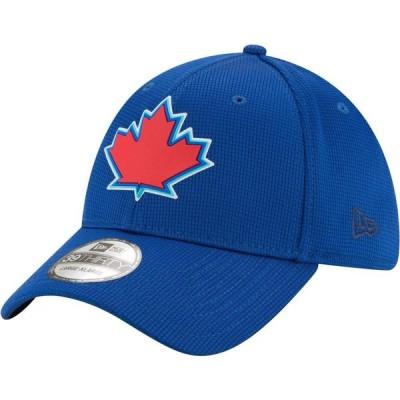 ニューエラ New Era メンズ キャップ 帽子 Toronto Blue Jays Blue 39Thirty Clubhouse Stretch Fit Hat