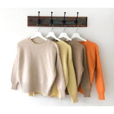 dangosister レディース ニット/セーター Saffron Round Knit