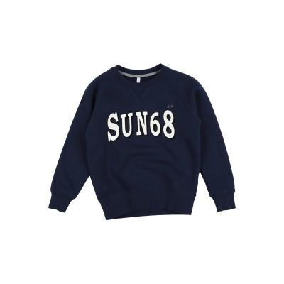 サンシックスティエイト SUN 68 スウェットシャツ ダークブルー 6 コットン 100% スウェットシャツ
