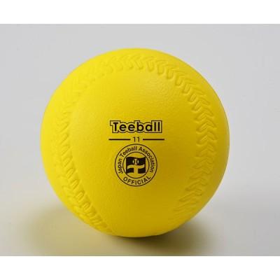 【送料別】ティーボール 学校 体育 日本ティーボール協会公認11インチボール【アカバネ】B-850