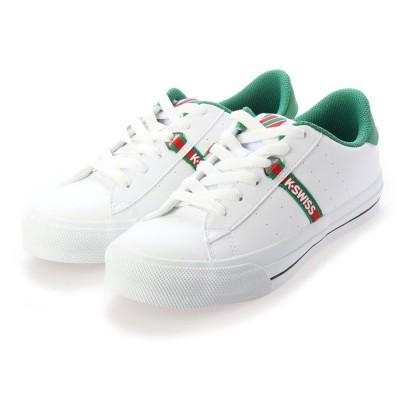 ケースイス KSWISS KSL 13 S (White/Green)