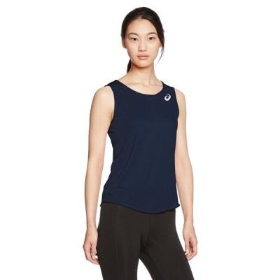[アシックス] 陸上ウエア ランニングシャツ XT2034 [レディース] ネイビー 日本 S (日本サイズS相当)