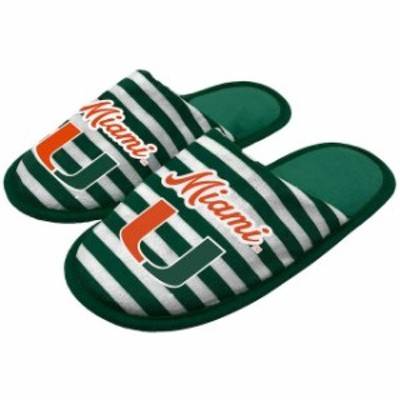 Forever Collectibles フォーエバー コレクティブル スポーツ用品  Miami Hurricanes Womens Scuff Slippers