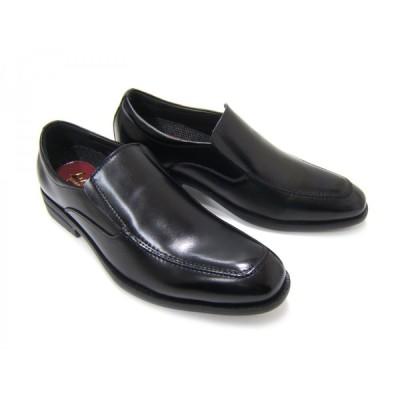 ルーカス コレクション/Lucas Collection YM2914-BLK ブラック 紳士靴 スリップオン Uチップ フォーマル ビジネス 送料無料 ポイント10倍