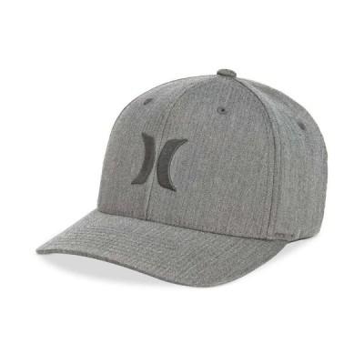 ハーレー Hurley メンズ キャップ 帽子 One And Only Texture Flexfit Logo Hat Grey