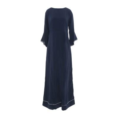ジャッカ JUCCA ロングワンピース&ドレス ダークブルー 38 レーヨン 95% / ポリウレタン 5% ロングワンピース&ドレス